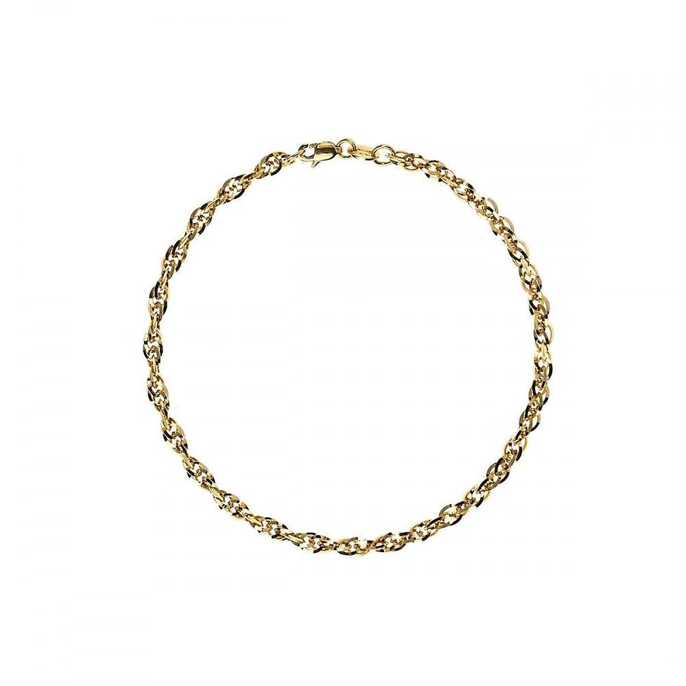 Eternity 9ct Gold Ladies 7 1/4'' Prince Of Wales Bracelet
