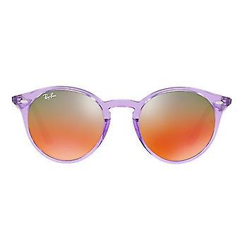 レイバン光沢のある紫のサングラス RB2180-6280A8-49