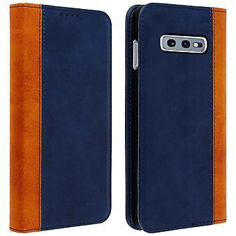 Samsung Galaxy S10e Folio Fall Speicherkarte Video Ständer dunkelblau