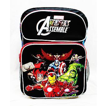 Rygsæk - Marvel - Avengers All Heroes Black Large School Bag ac24752
