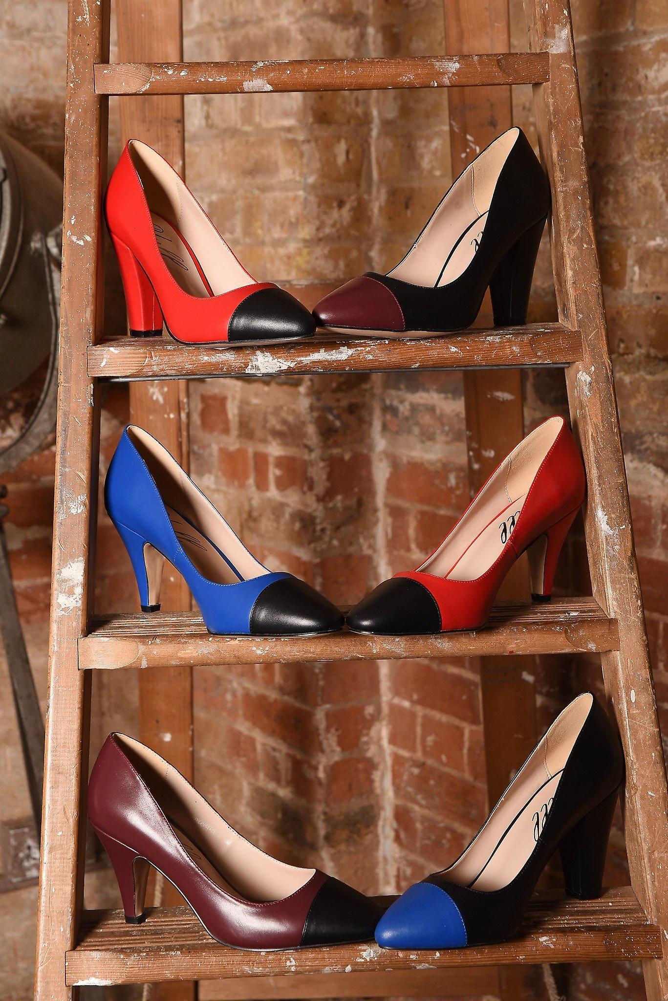 Chaussures bleu noir Beaulieu S5eMyy