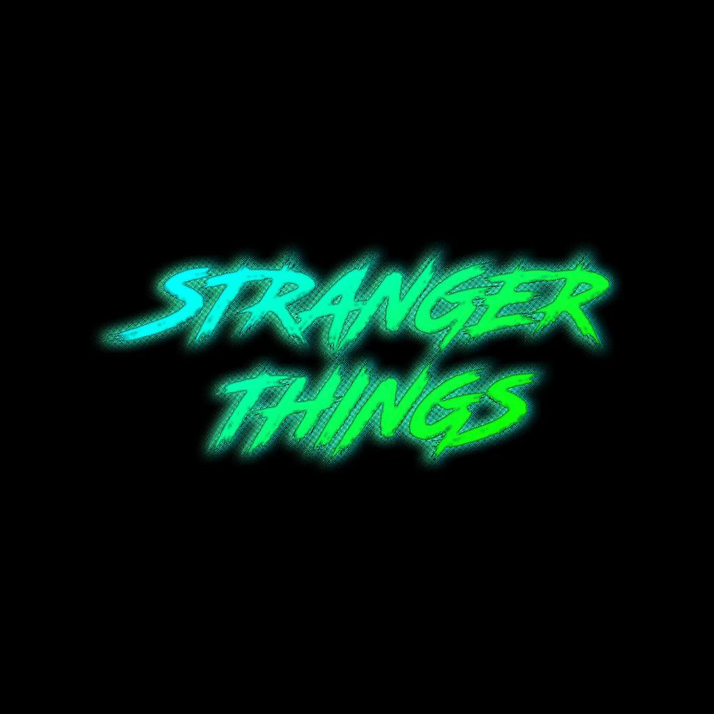 Stranger Things Aggressive Neon Green Text Chaqueta Varsity kid