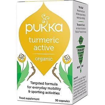 Pukka Turmeric Active Cápsulas 30