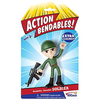 Action Figures - Soldier - Bendable 4