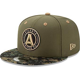 New Era 9Fifty Snapback Cap - MLS Atlanta United digi camo