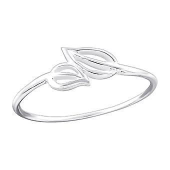 Frunze - 925 Sterling Silver Inele Câmpia - W20317x