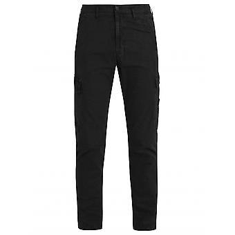 Stone Island Black Slim Fit Cargo Pant