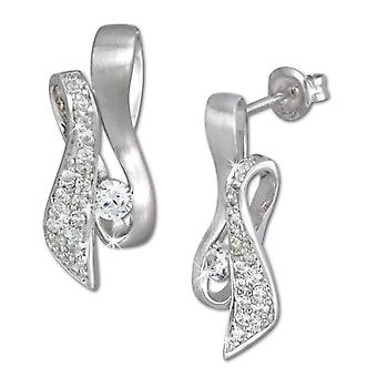 925 Sterling SilberDream woman-silver earrings with white zircons VSDO297PW