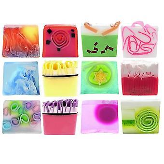 Colorful Sliced Soap Gift Set Of TWELVE