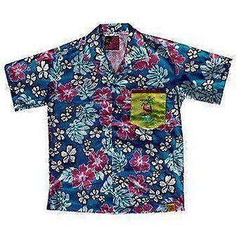 Team phun phlamingbo bo mitchel hawaiin shirt
