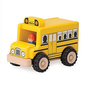 Wunderwelt aus Holz Schulbus