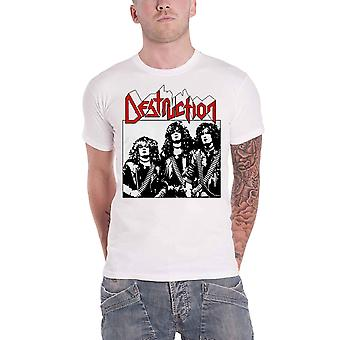 Destruction T Shirt Alt Photo Band Logo nouveau blanc officiel homme