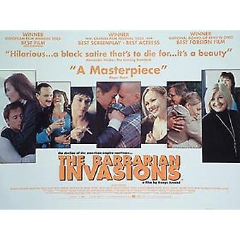 Barbarian Invaions alkuperäinen elokuva juliste
