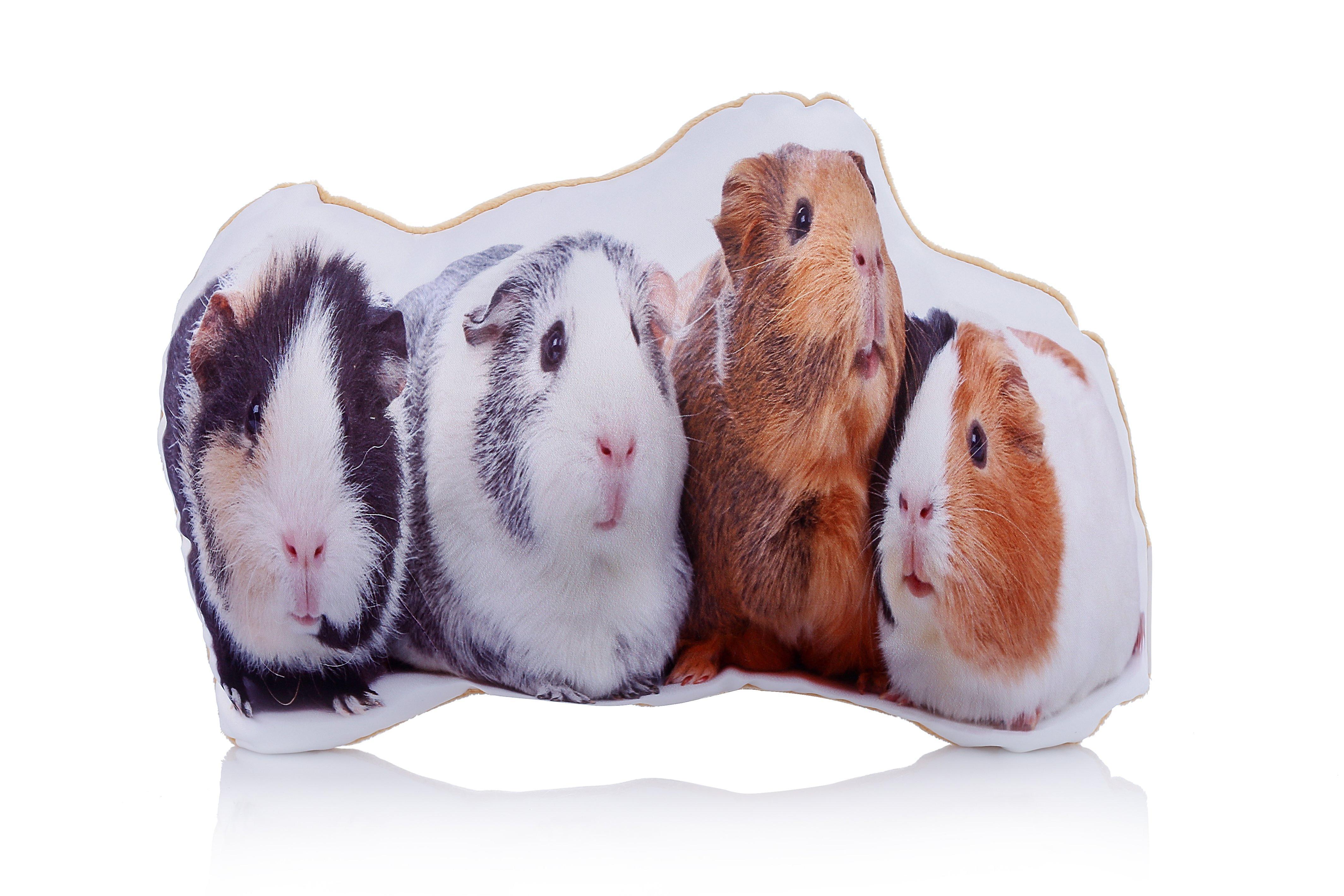 Adorable guinea pig shaped midi cushion