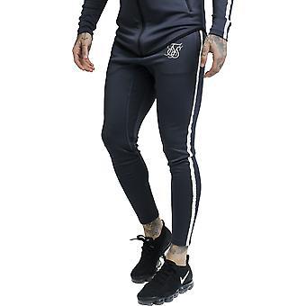 Sik Silk Tech atlet track bukser sort 80