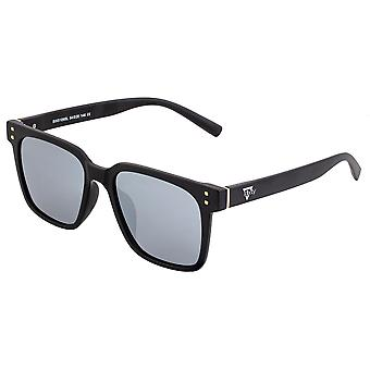 Sixty One Capri Polarized Sunglasses - Black/Silver