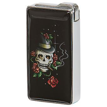 Lighters-Skull with Rose