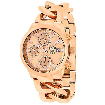 Jivago Women's Levley Rose gold Dial Watch - JV1244