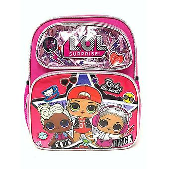 Small Backpack - L.O.L. Surprise - Hip Hop Shiny Pink 12