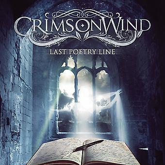 Crimson Wind - dernière ligne de la poésie [CD] USA import