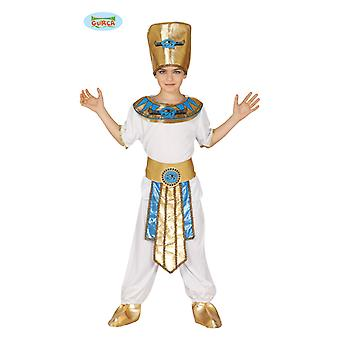 Fantasia infantil de Guirca faraó governante carnaval rei Egito