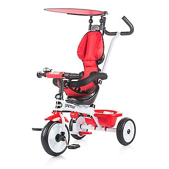 Chipolino Tricycle Primus 2 in 1 tricycle, push rod, sunroof, footrest