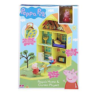 Peppa's Home And Garden Playset