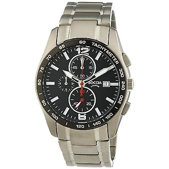 Boccia 3767-02, men's wristwatch