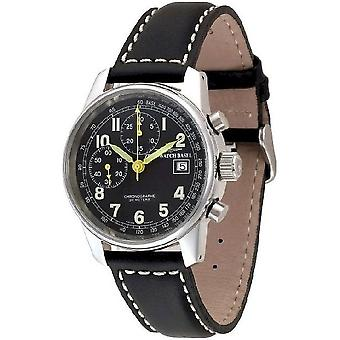Zeno-watch mens watch classic chronograph Bicompax limited edition 6557BD-a1