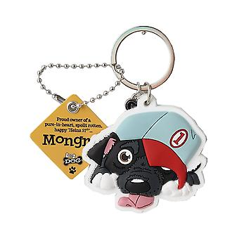 Wags & Whiskers Keyring - Mongrel