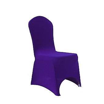 Purple Spandex Chair Cover Lycra cover
