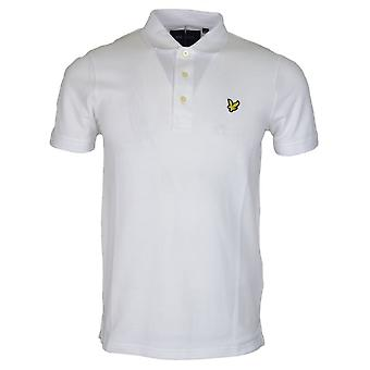 Lyle & Scott Sp400vb Short Sleeve Plain Pique White Polo