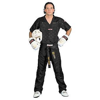 Top Ten Adult Mesh Kickboxing Pants Black/Black