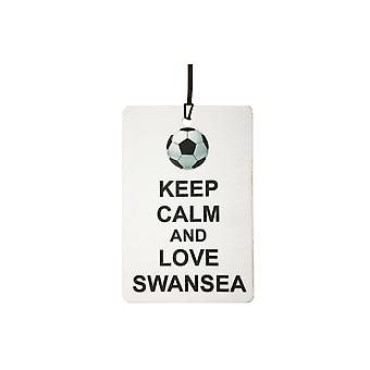 Keep Calm And Love Swansea Car Air Freshener