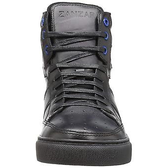 ZANZARA Mens ZH813S53 Leather Hight Top Lace Up Fashion Sneakers