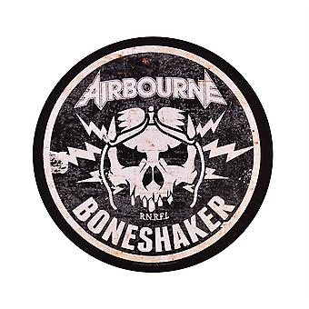 Airbourne Boneshaker Circulaire Back Patch