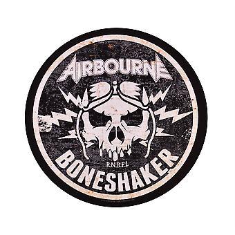Airbourne Boneshaker Circular Back Patch