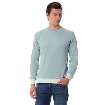 Trussardi Man Green Pullover