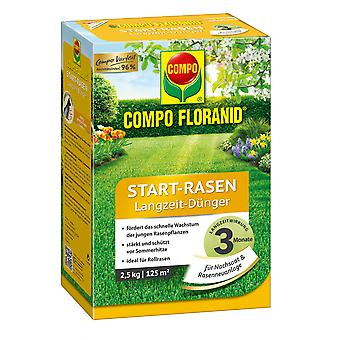 COMPO Floranid® Start Lawn Long-term Fertilizer, 2.5 kg