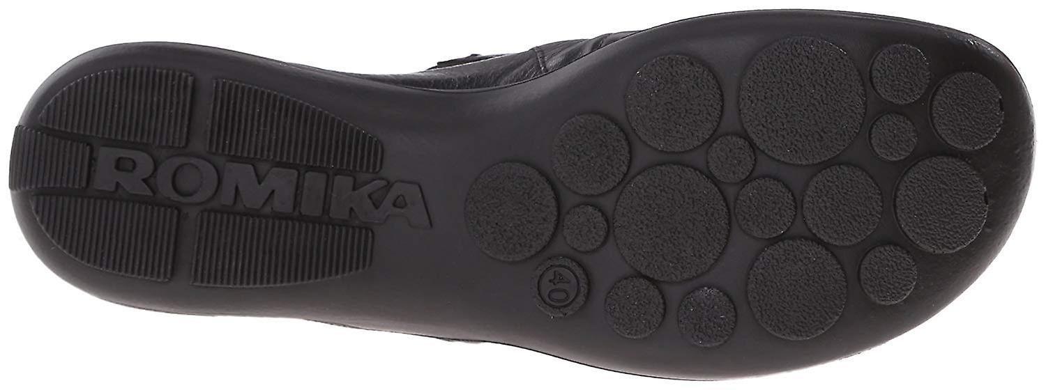 Romika Womens R10204-35100 Leather Closed Toe Clogs