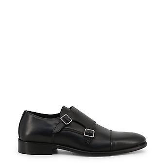 Made in Italia Original Men Spring/Summer Flat Shoe - Black Color 34082
