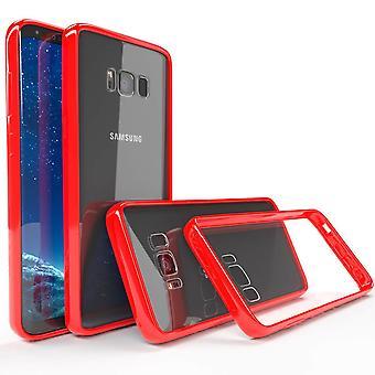 Crystal tpu bumper gel case for samsung galaxy s9 plus