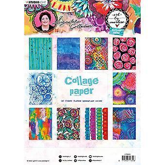 Art Marlene 5.0 Kollaasi Paperi A4 20/Pkg-NR. 06, 10 mallia/2 kpl