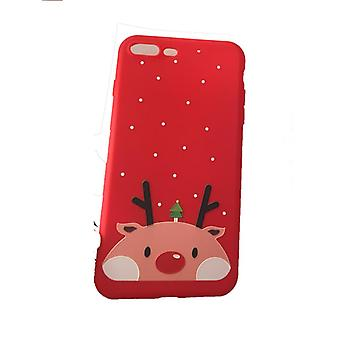Mobile peel iPhone 7/8 Plus with Christmas motif Clean - red