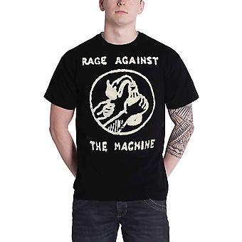 Rage Against the Machine T Shirt Molotov Stencil Band Logo Official Mens Black