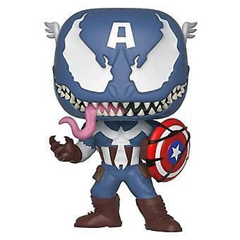 Venom Venomized Captain America Pop! Vinyl