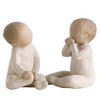 Willow Tree deux ensemble Figurine