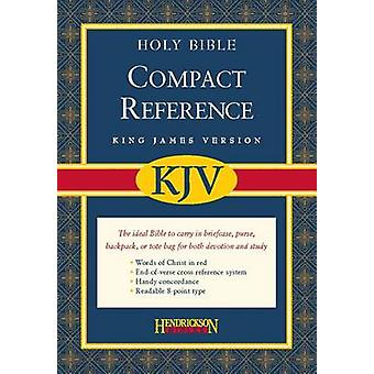 Compact Reference Bible-KJV-Magnetic Closure by Hendrickson Publisher