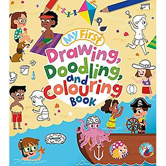 My First Drawing - Doodling - and Colouring Book by Kasia Dudziuk - 9
