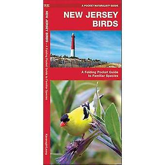 New Jersey-Vögel - eine Faltung Pocket Guide to bekannte Arten von James